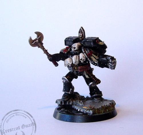 Chaplain, Space Marines, Warhammer 40,000