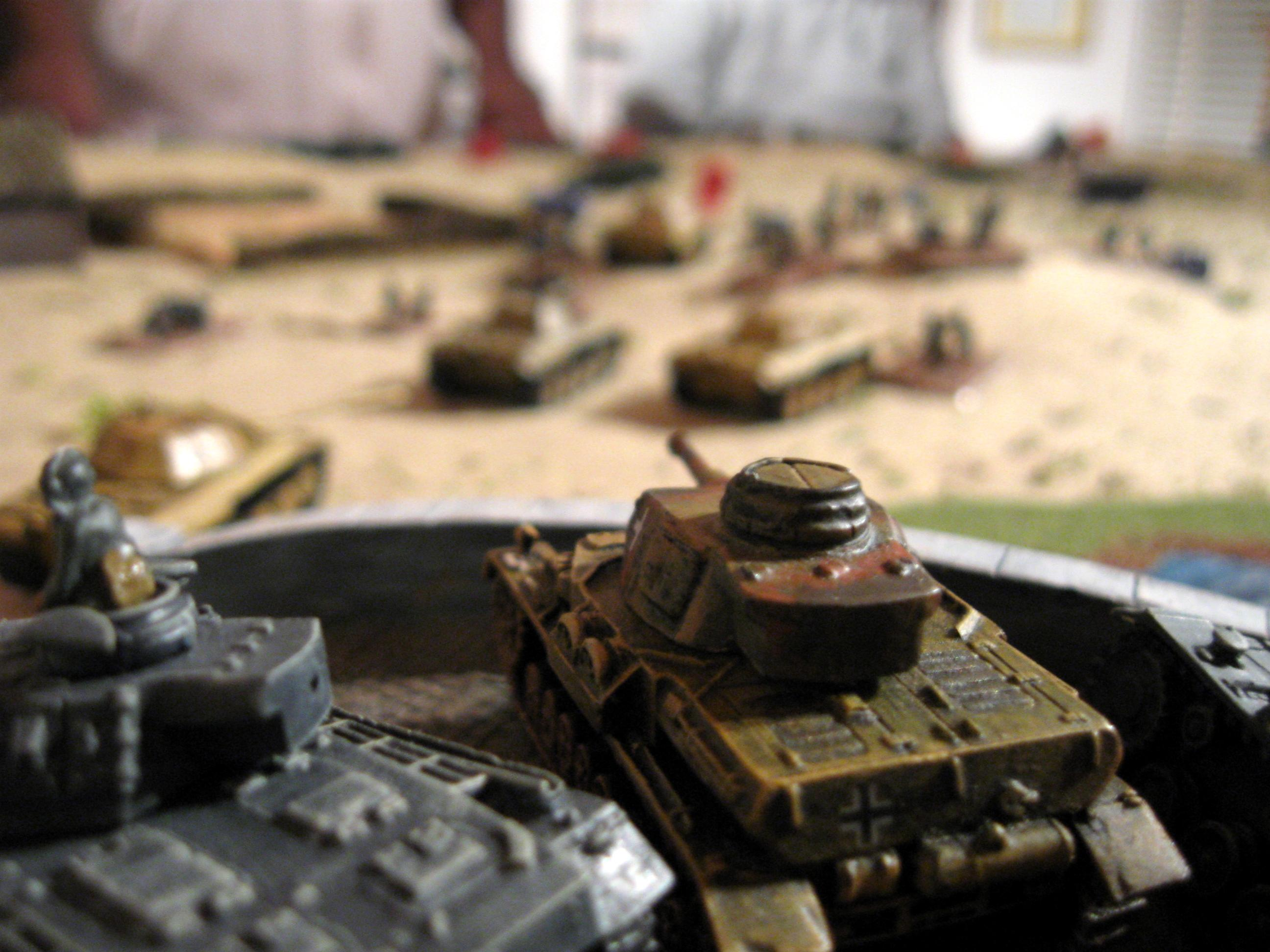 15mm, Flames Of War, Jack's Panthers hold the bridge