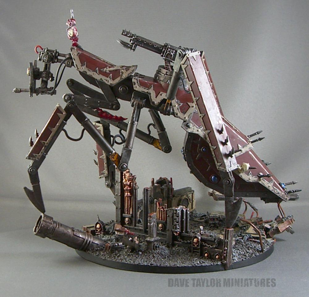 Chaos, Defiler, Imperial Guard, Knights, Lost And The Damned, Scratch Build, Titan, Traitor, Walker