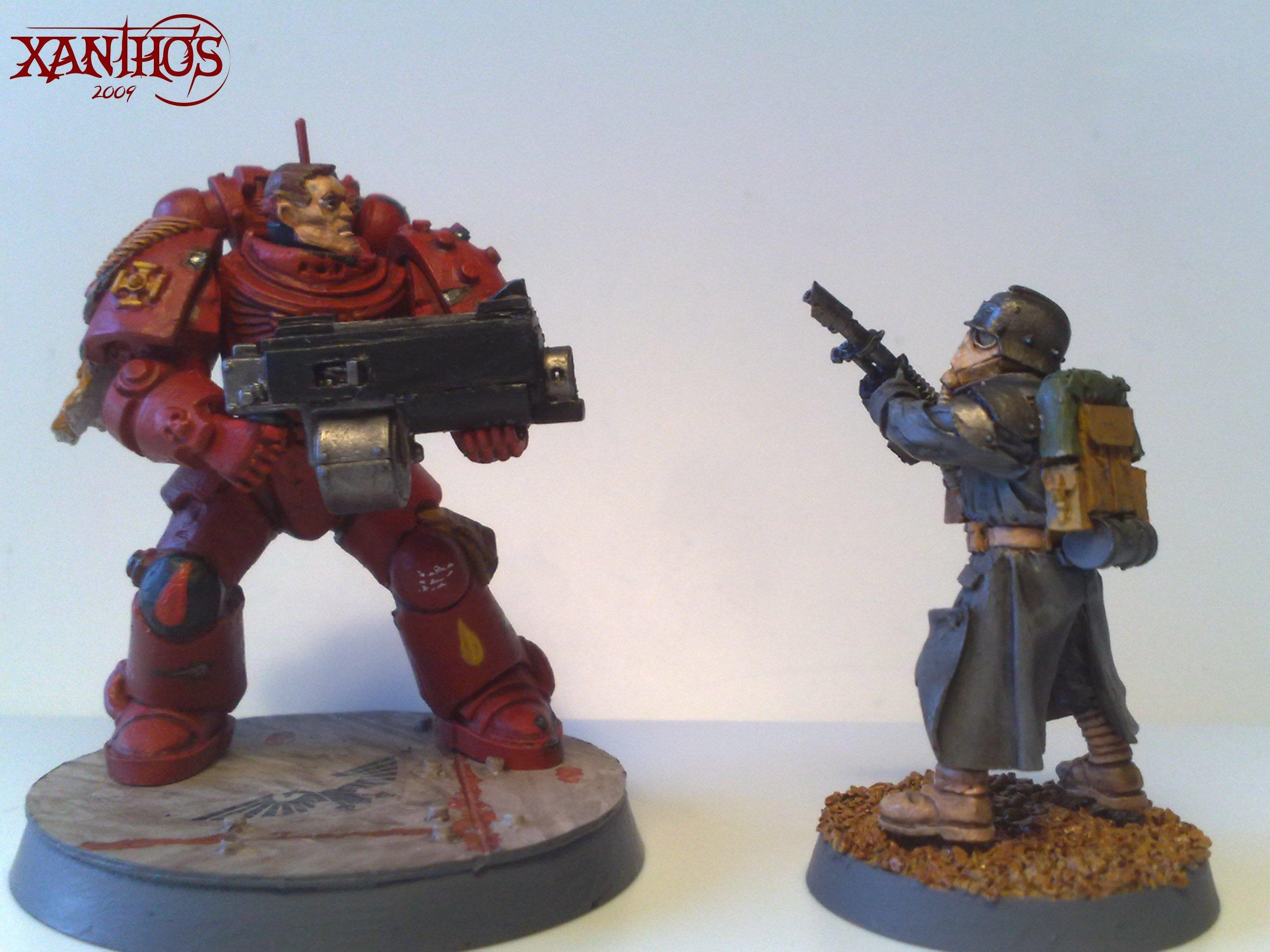 Blood Angels, Space Marines, True Scale