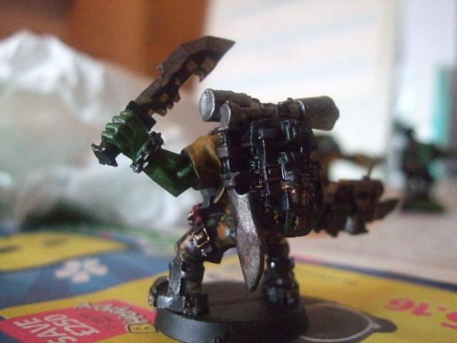 Ork Kommando, Orks, Warhammer 40,000, Work In Progress