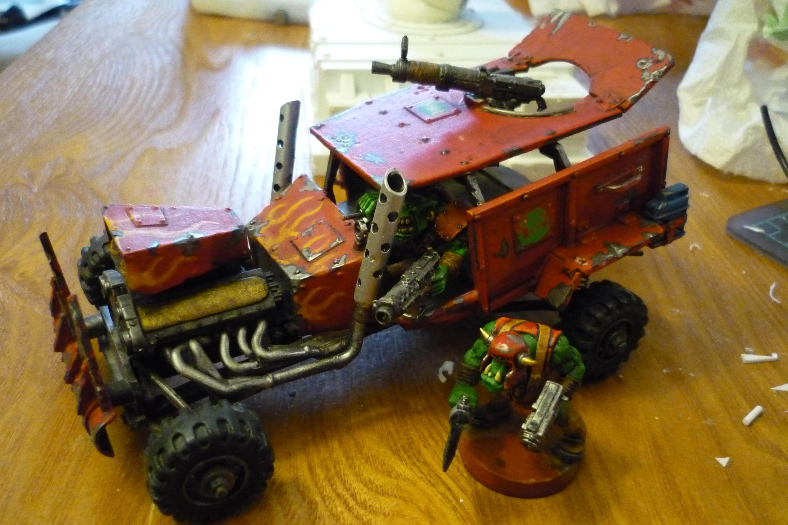 Buggy, Conversion, Orks, Scratch Build, Warbuggy, Warhammer 40,000