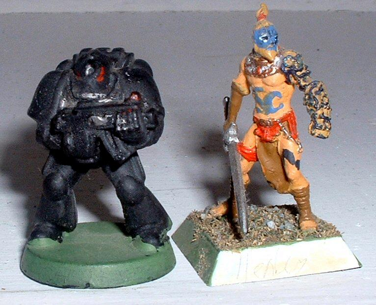Kelt, Rackham, Scale, Space Marines
