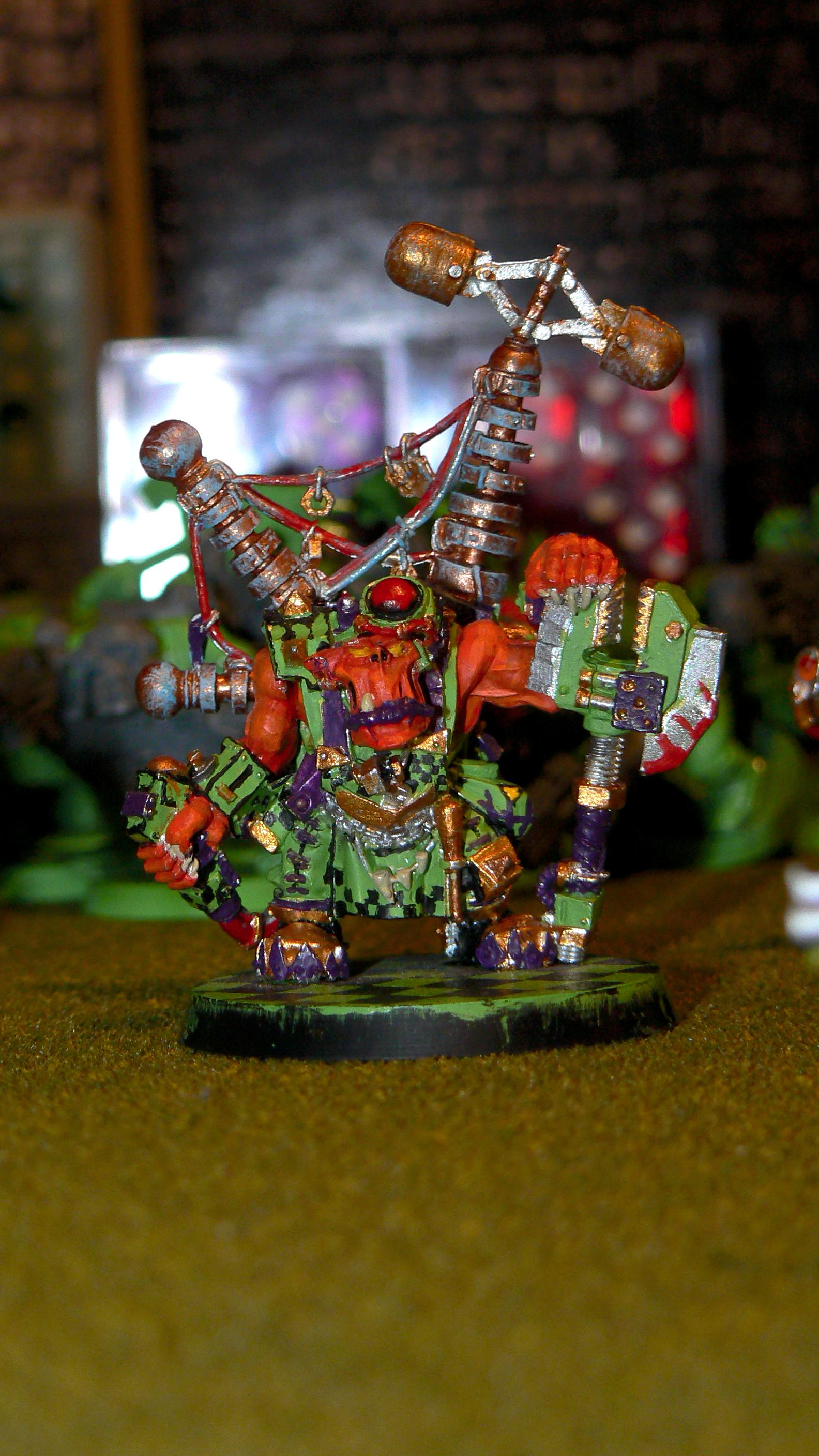 Big Mek, Orange, Orks