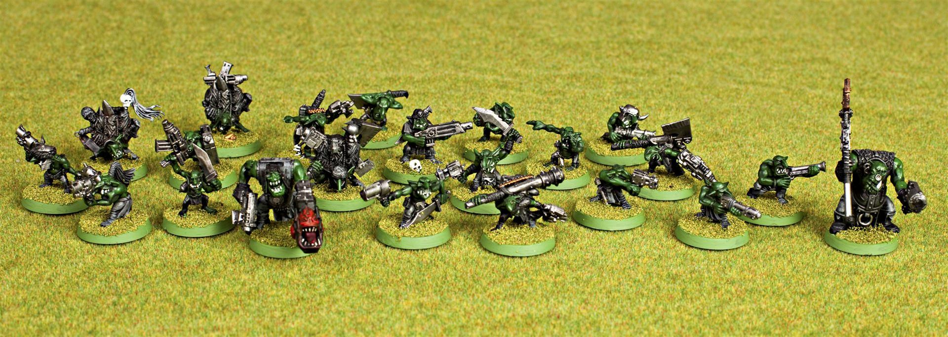 Gretchin Mob, Orks, Runtherford