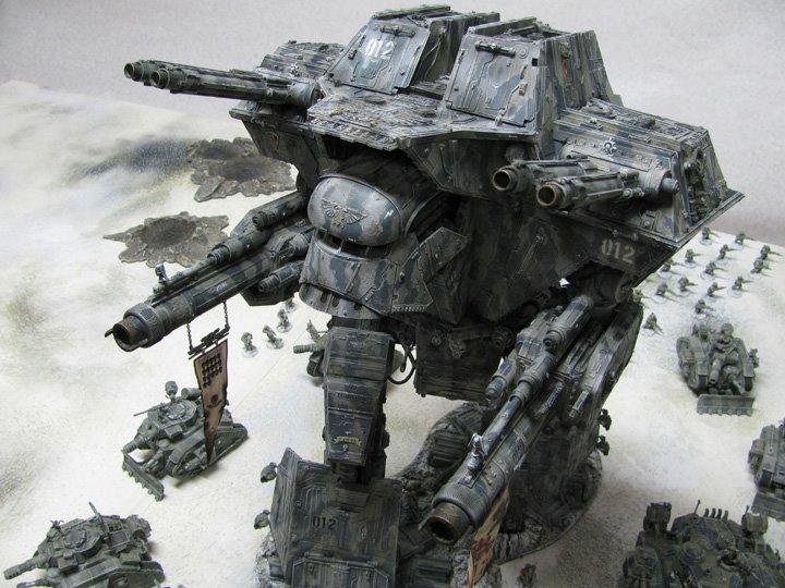 Apocalypse, Titan, Warhammer 40,000, Warlord
