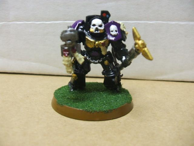 Chaplain, Terminator Armor