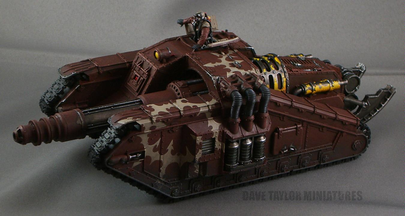 Forge World, Imperial Guard, Lost And The Damned, Tank