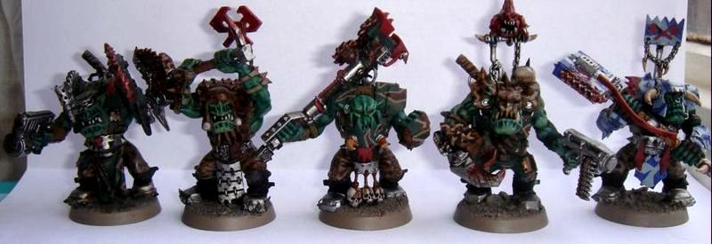 Blood Axe, Camouflage, Orks, Warhammer 40,000