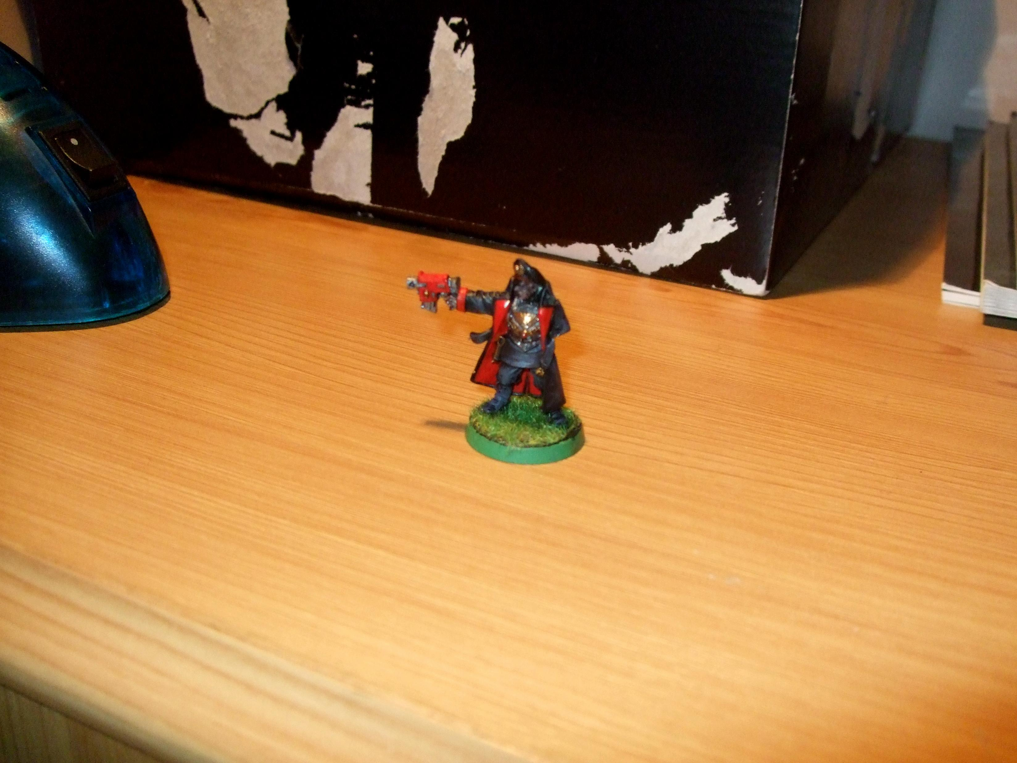 Commissar, Imperial, Imperial Guard, Warhammer 40,000
