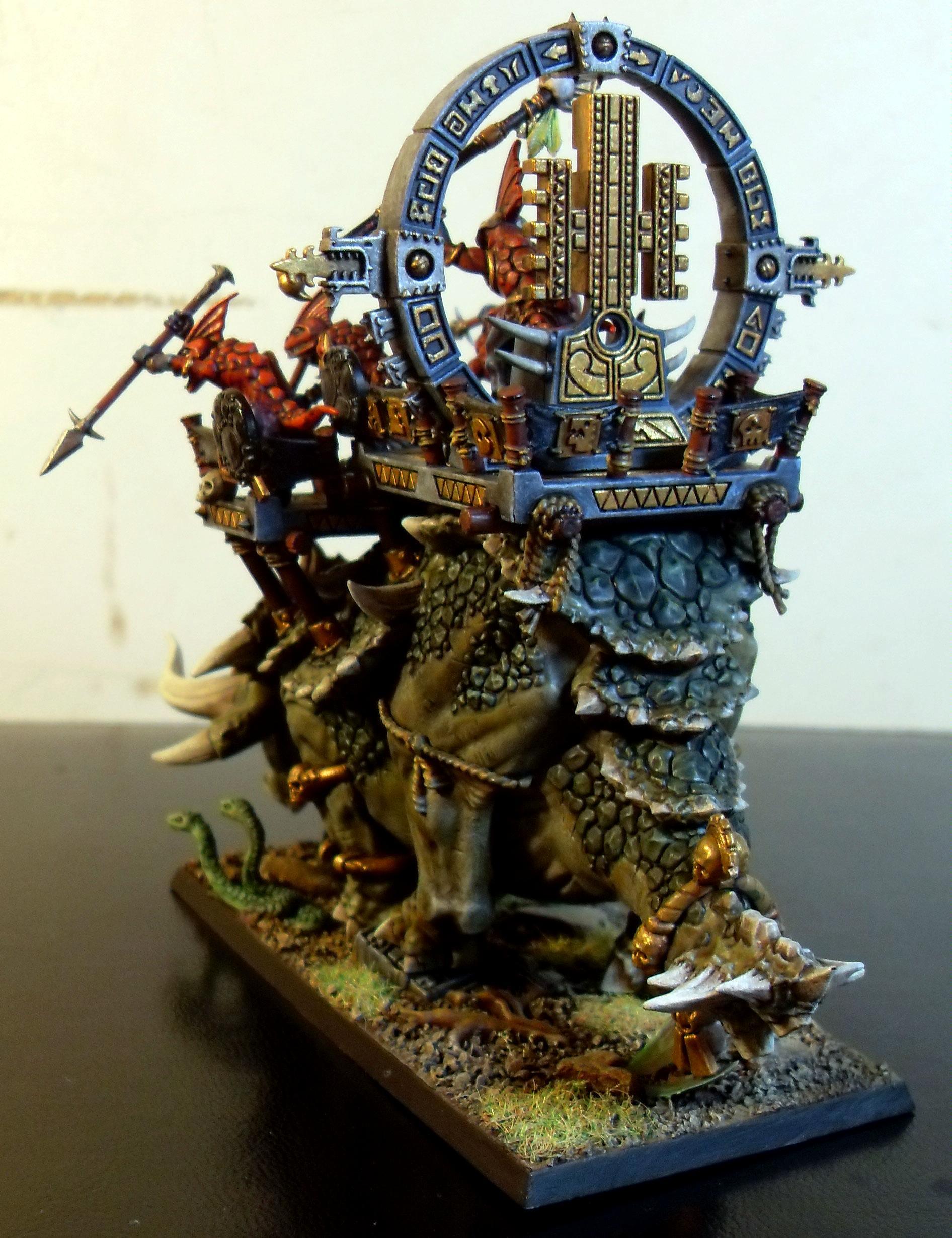 Lizardmen, Stegadon, Stegaton, Warhammer Fantasy