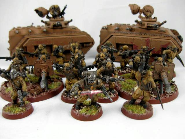 Forge World, Imperial Guard, Lost And The Damned, Traitor