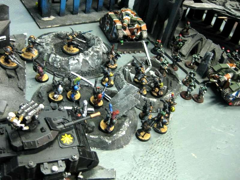 Black Legion, Chaos, Chaos Space Marines, Imperial Guard