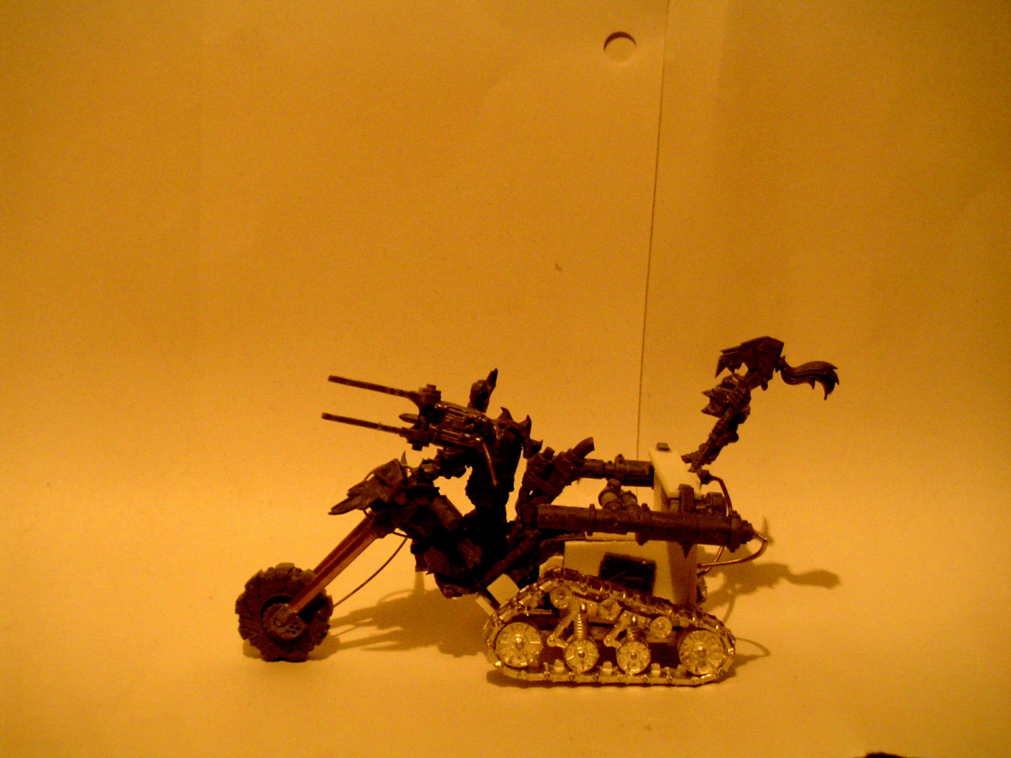 Bike, Choppa, Dark Picture, Orks