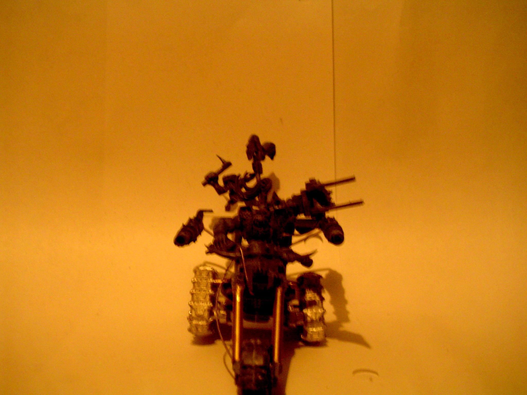 Bike, Blurred Photo, Dark Image, Orks