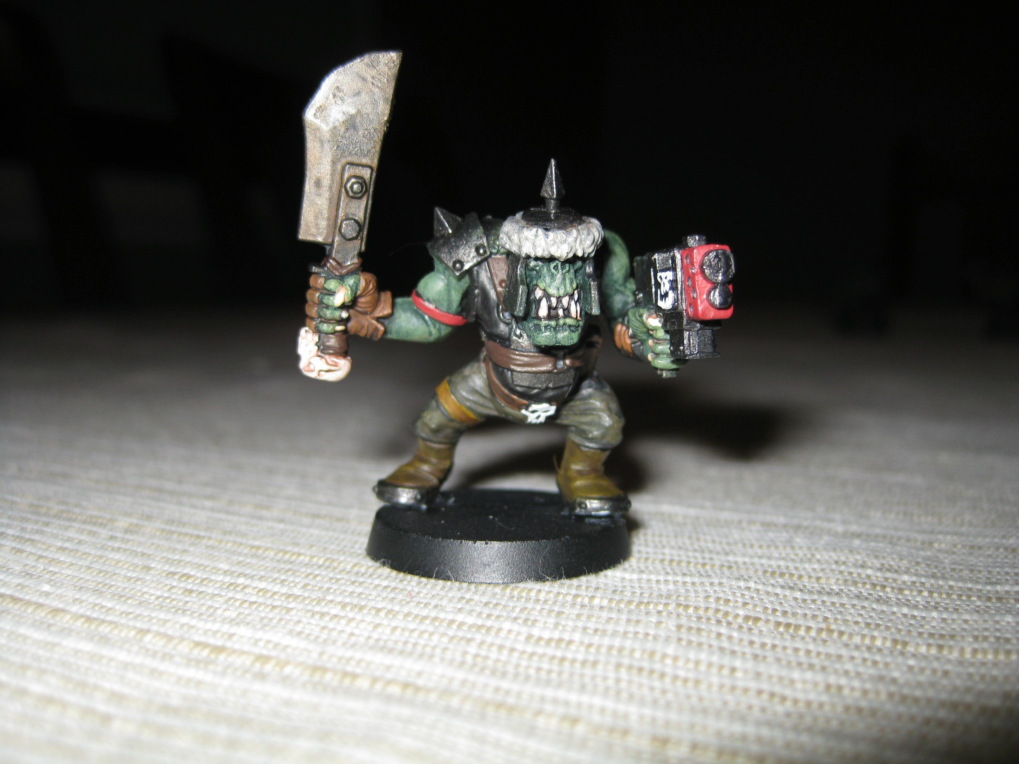 Boy, Orks, Troops, Warhammer 40,000