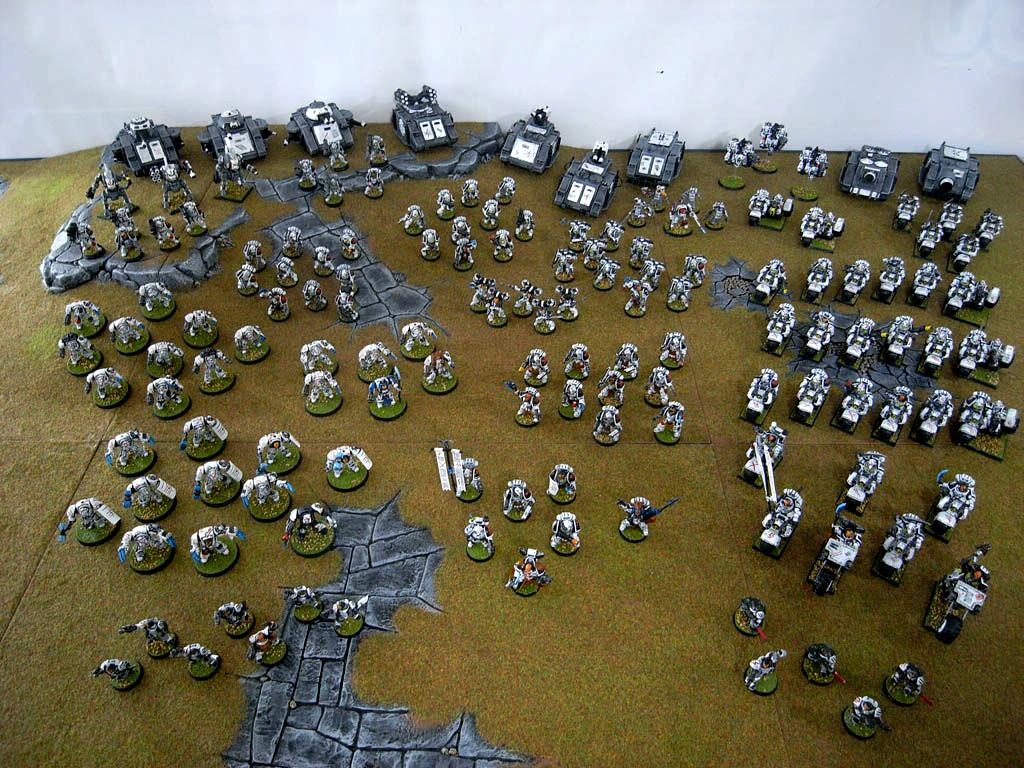 Army, Astartes, Bike, Classic, Scars, Space Marines, White, White Scars