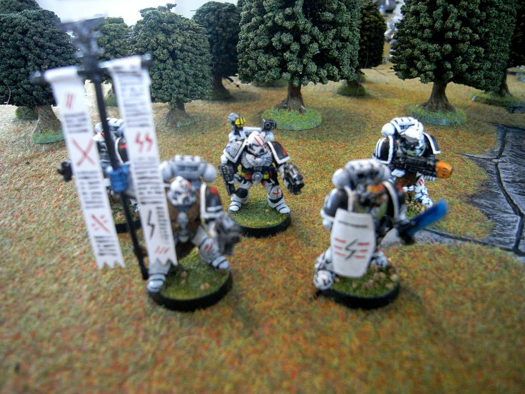 Army, Astartes, Bike, Classic, Scars, Space Marines, White, White Scar, White Scars