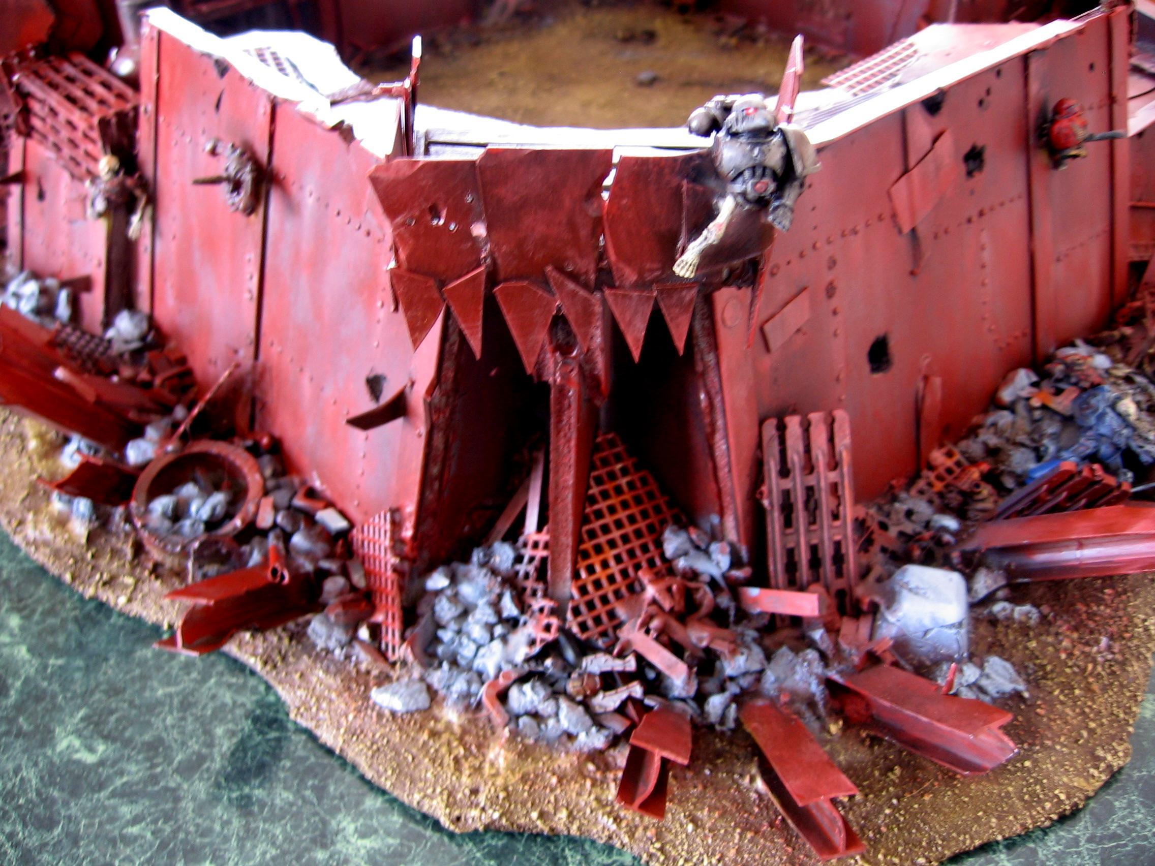 40k Orks, Fortress, Ork Fort, Ork Fortress, Orks, Orky, Terrain, Warhammer 40,000
