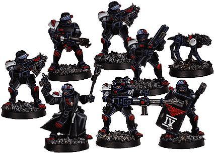 Arbitrators, Enforcers, Necromunda, Warhammer 40,000