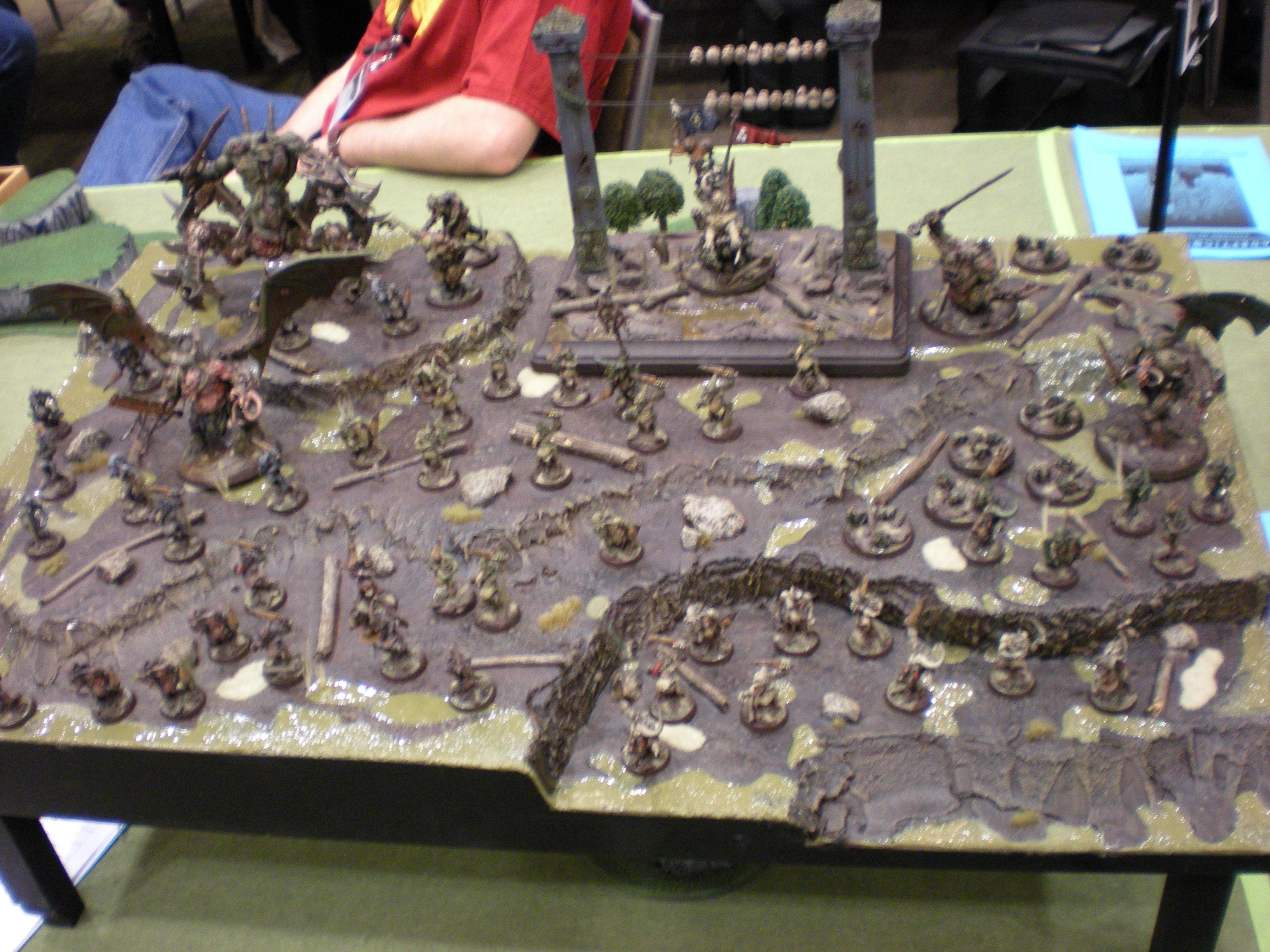 Blurred Photo, Daemons, Nurgle, Warhammer 40,000