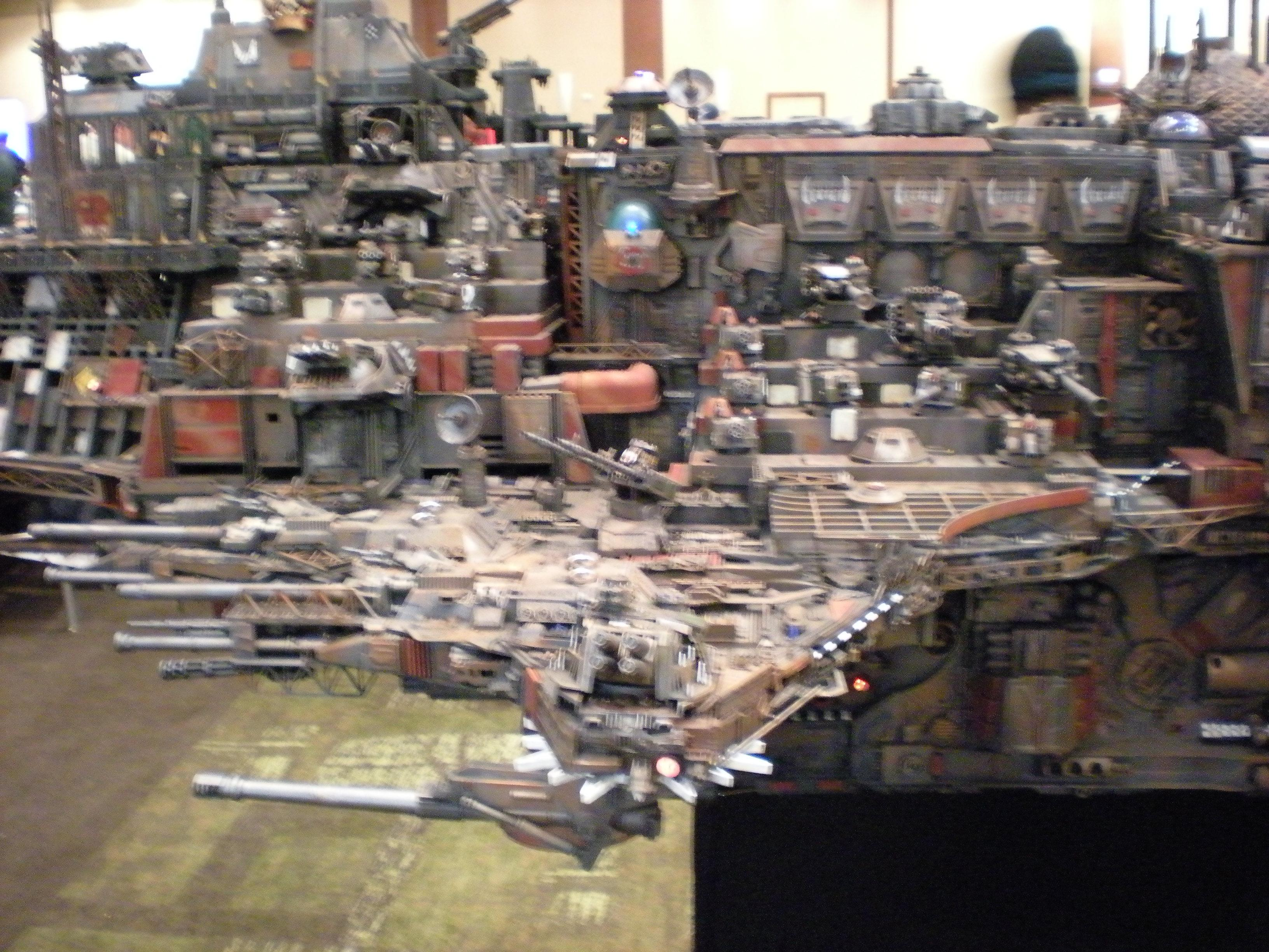 Adepticon, Blurred Photo, Display, Orks