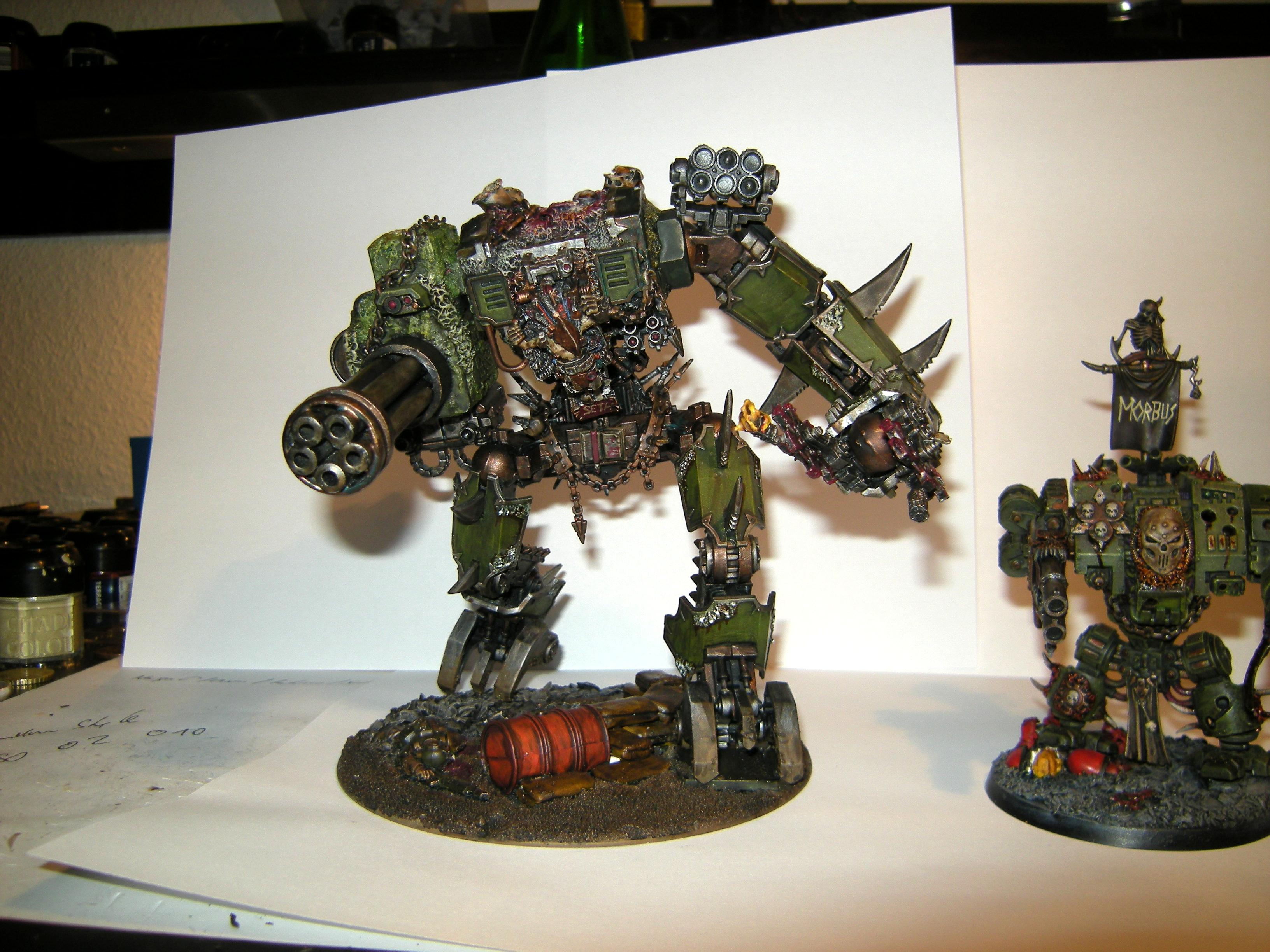 Awesome, Chaos, Chaos Space Marines, Defiler, Knights, Nurgle, Titan, Walker