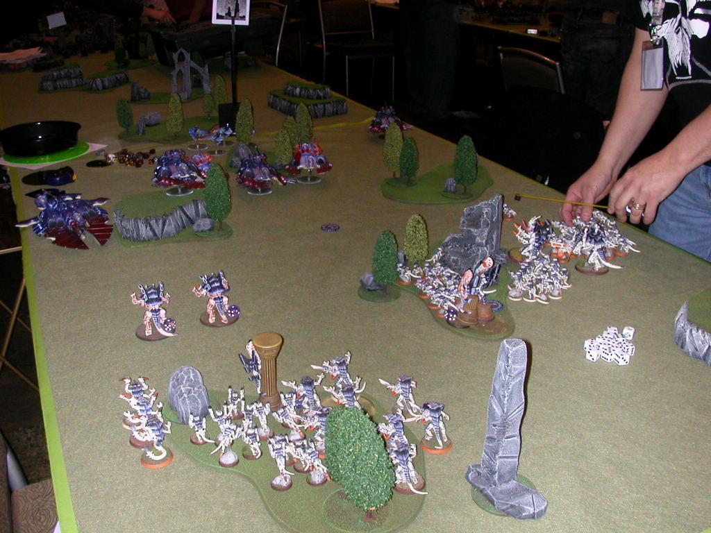 Adepticon 2009, Battle, Battle Report, Eldar, Tyranids