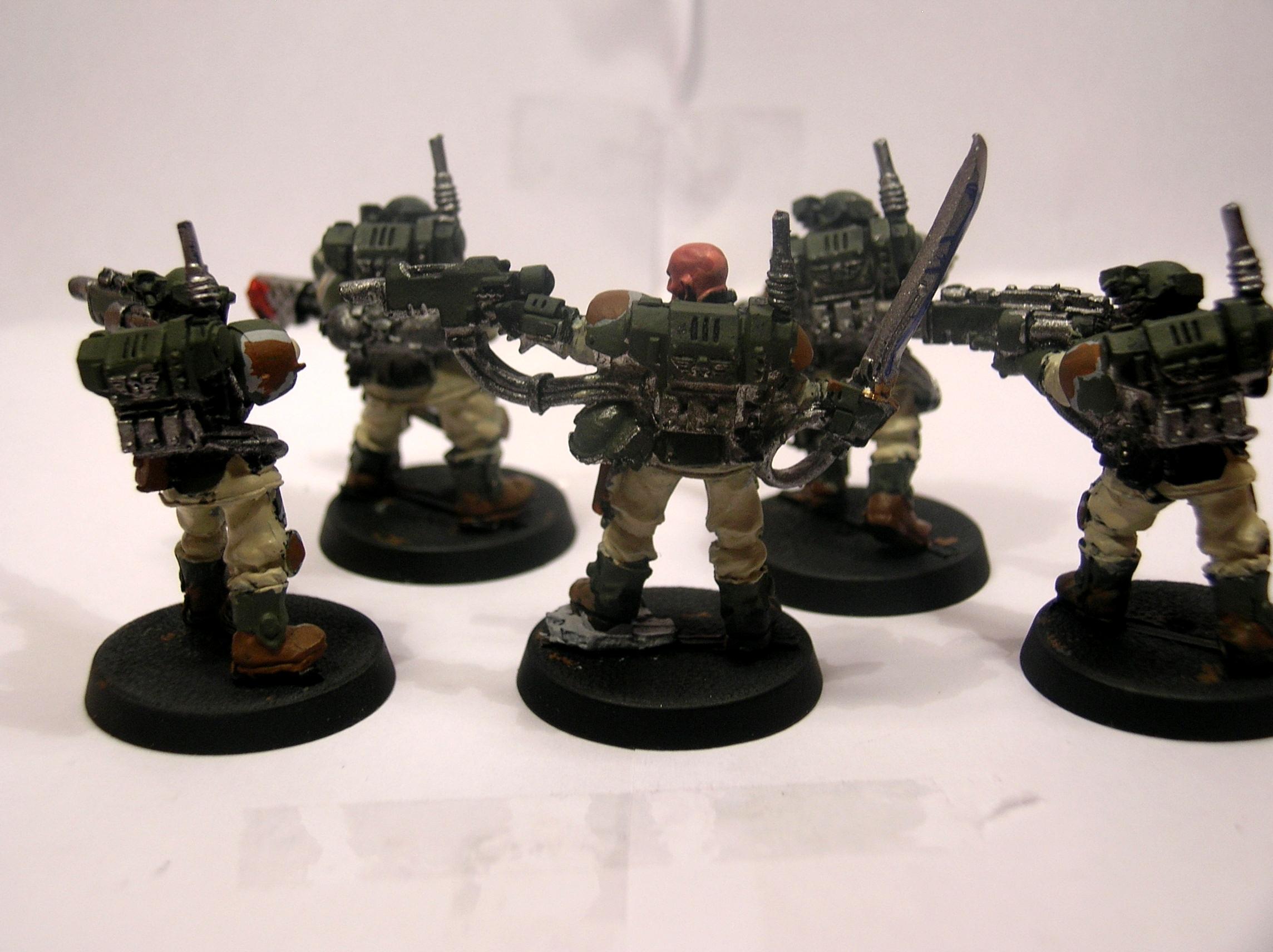 Small Kasrkin Squad (back)