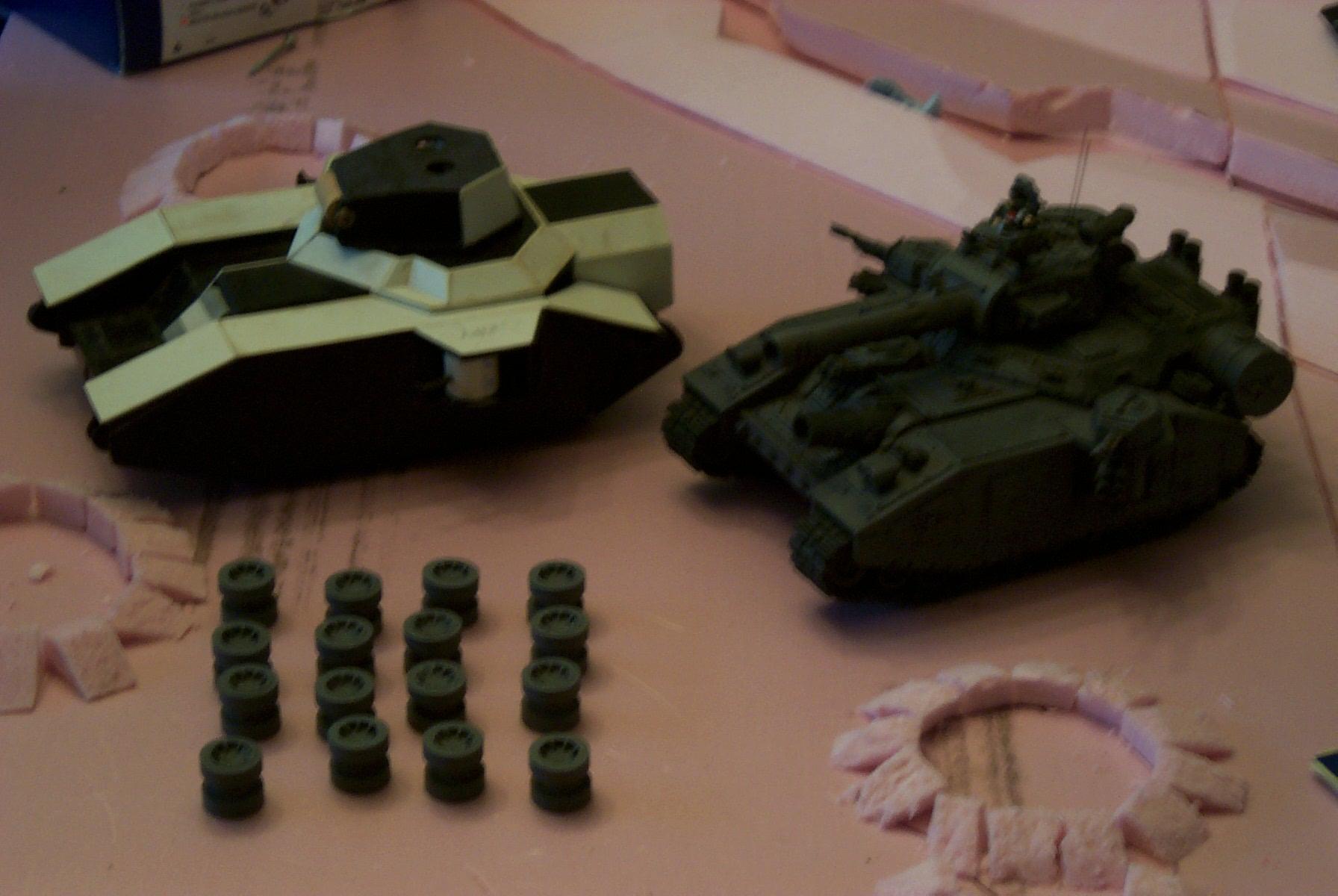 Imperial Guard, Scratchbuilding, Stormhammer, Warhammer 40,000