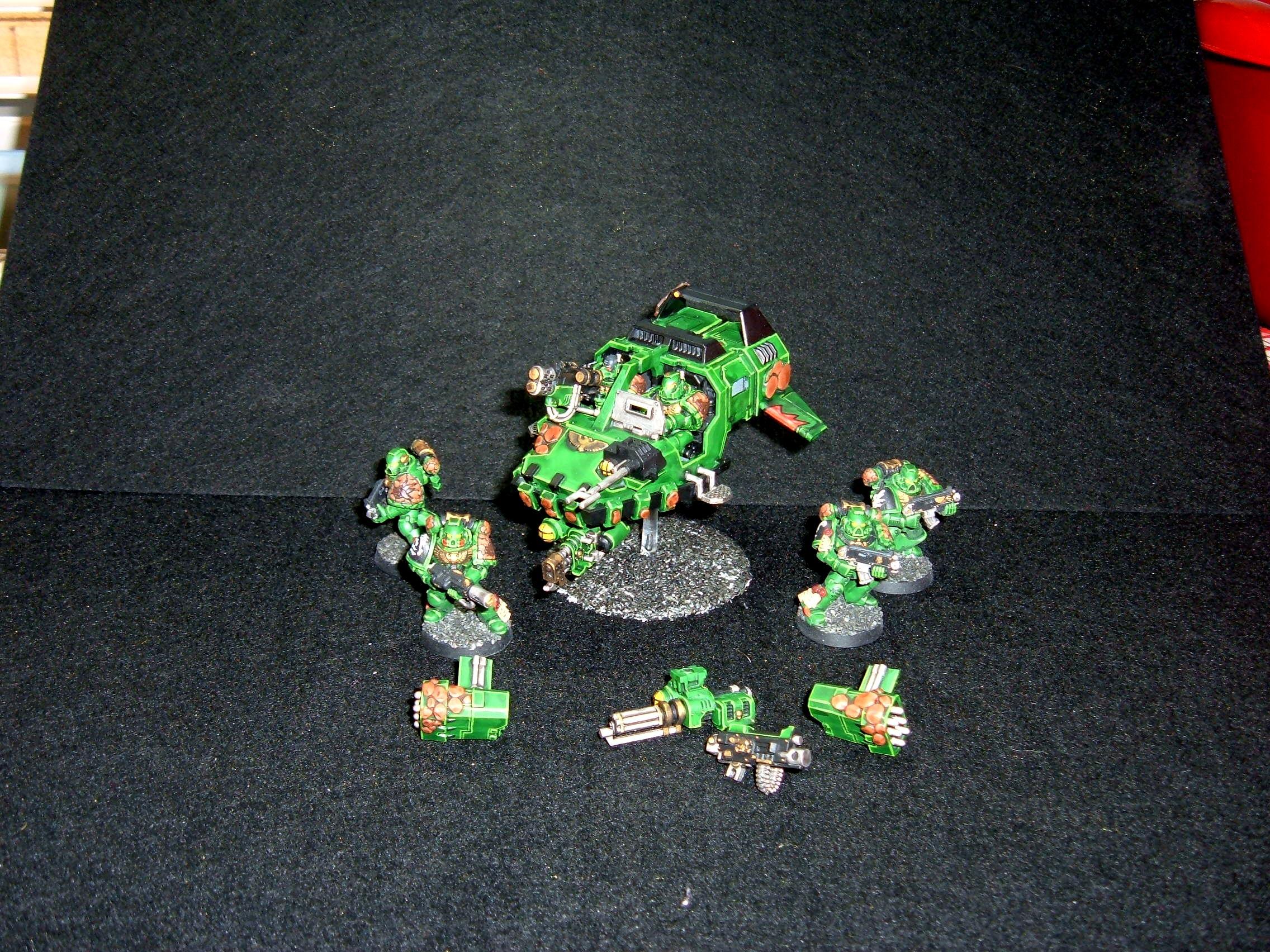 Salamander, Space, Space Marines, Warhammer 40,000