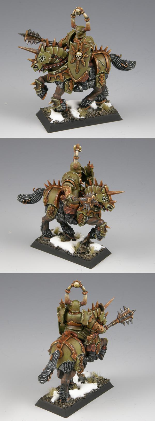 Chaos Knight, Gemrich, Snow, Warhammer Fantasy