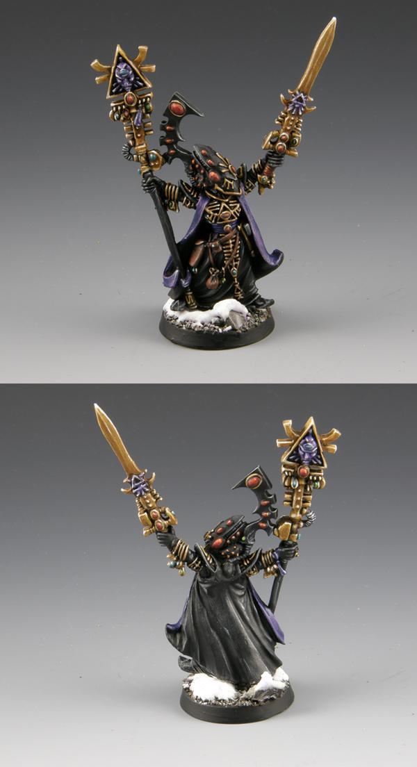 Eldar, Eldrad, Farseer, Headquarters, Warhammer 40,000