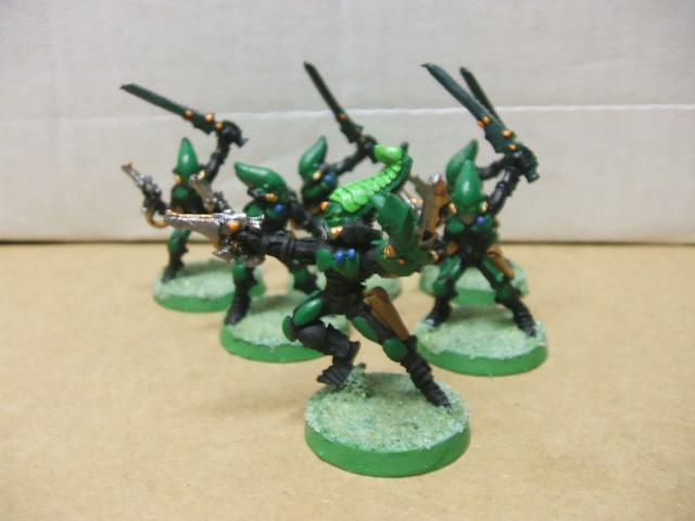 6 Striking Scorpions