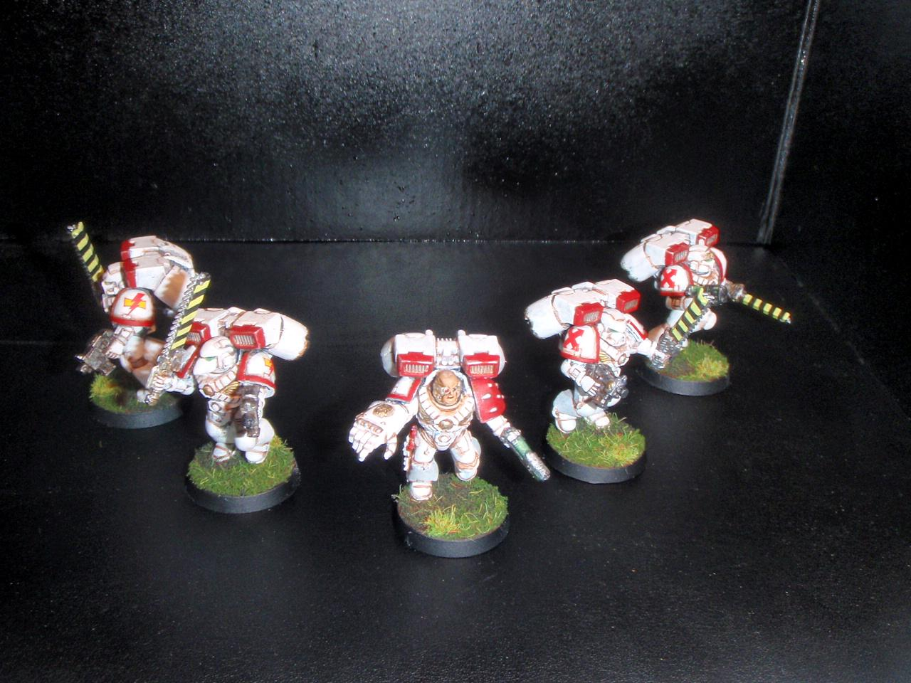 Assault, Assault Marines, Space Marines, Squad, White Scars