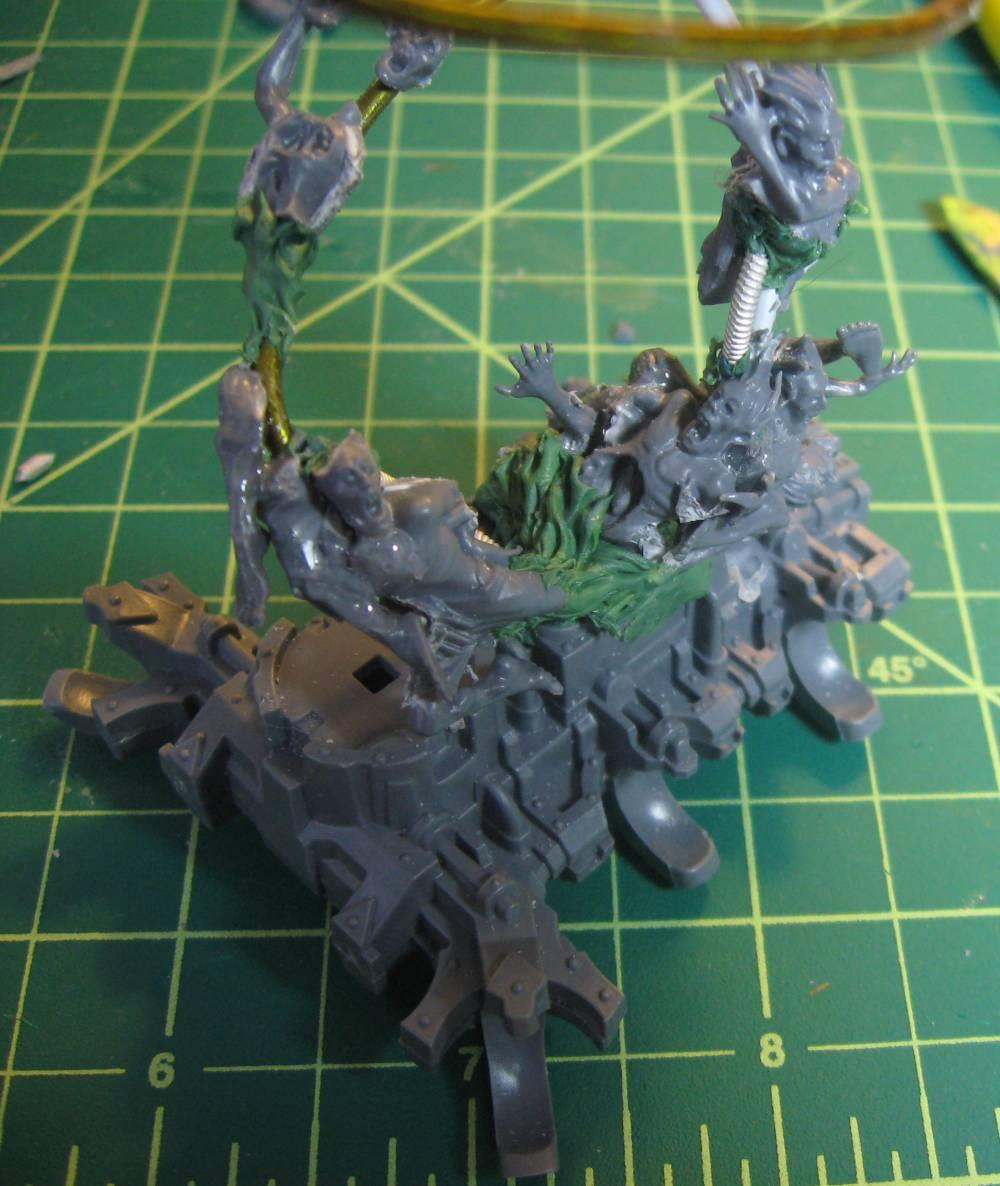Chaos Daemons, Conversion, Soul Grinder, Work In Progress
