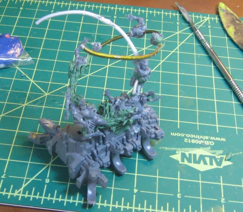 Chaos Daemons, Conversion, Soul Grinder, Work In Progress
