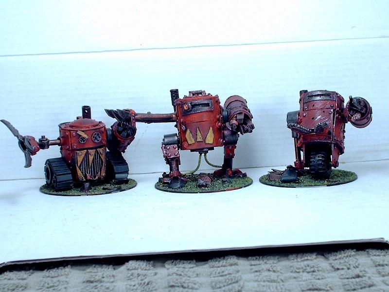 Battlewagon, Big Mek, Dreadnought, Killa Kan, Looted, Orks, Wagon, Warhammer 40,000
