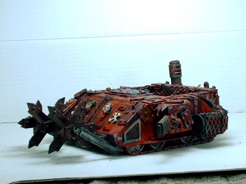 Battlewagon, Big Mek, Dreadnought, Killa Kan, Looted, Orks, Rhino, Wagon, Warhammer 40,000