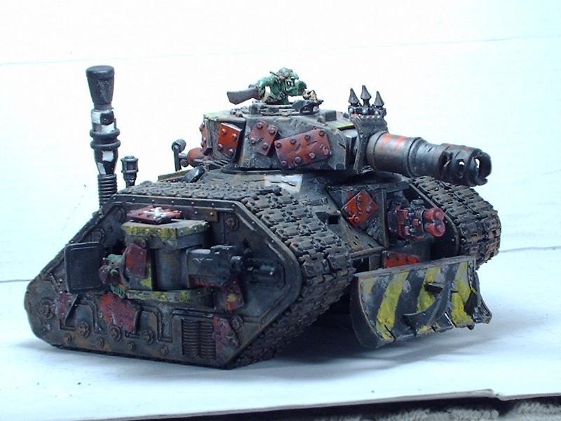 Battlewagon, Big Mek, Dreadnought, Killa Kan, Looted, Orks, Wagon, Warhammer 40,000