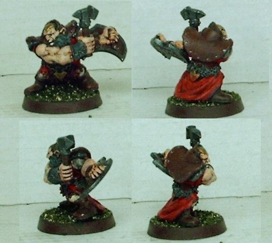 Chainmail, Dwarves, Hammer, Priest