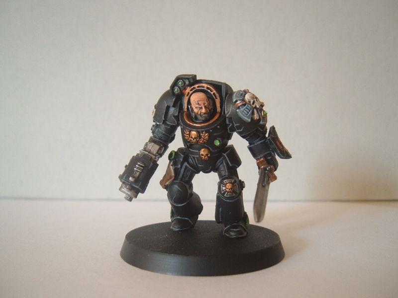 Space Marines, Termie, Terminator Armor, Warhammer 40,000