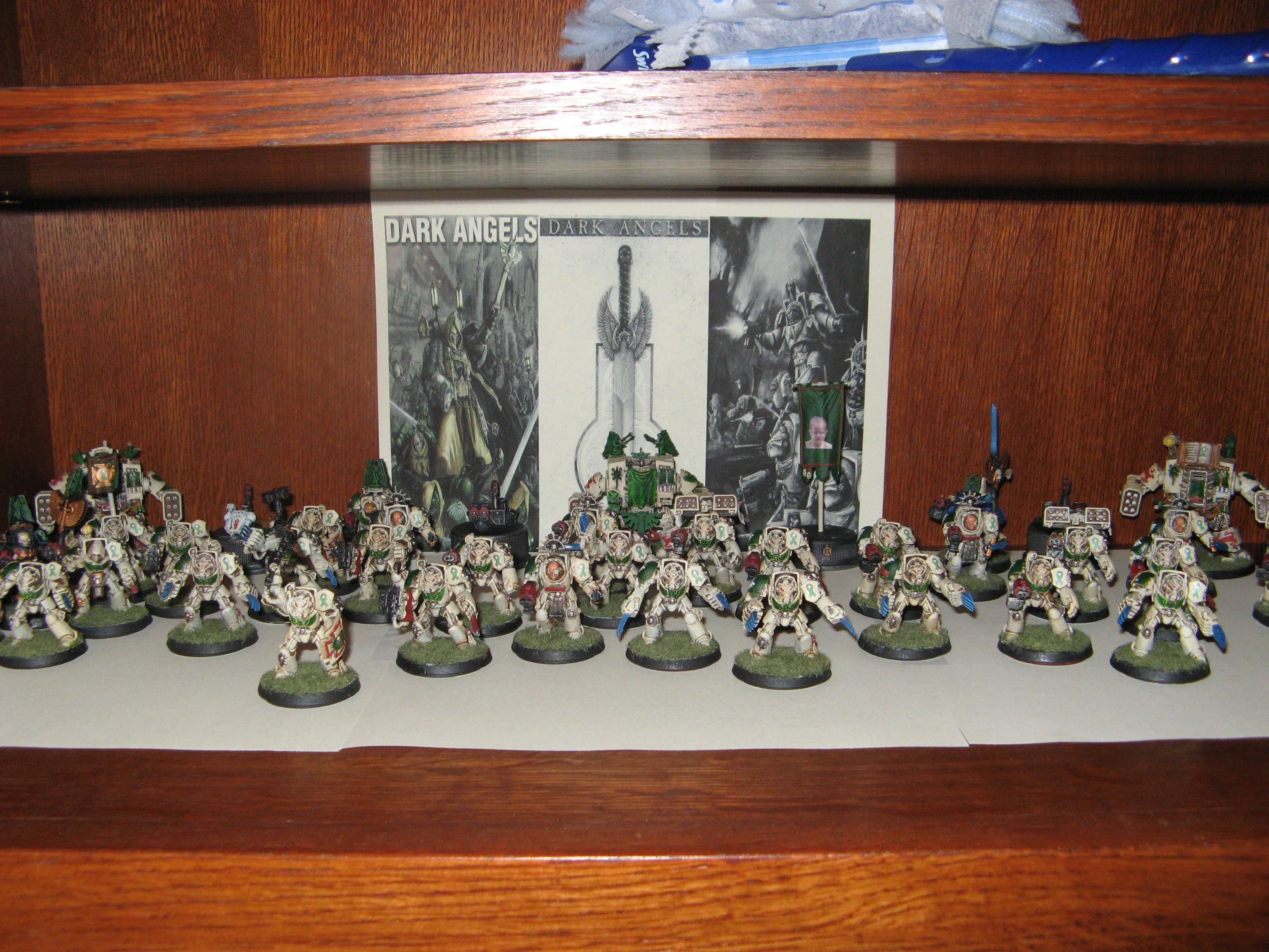 Dark Angels, Deathwing, Space Marines, Terminator Armor