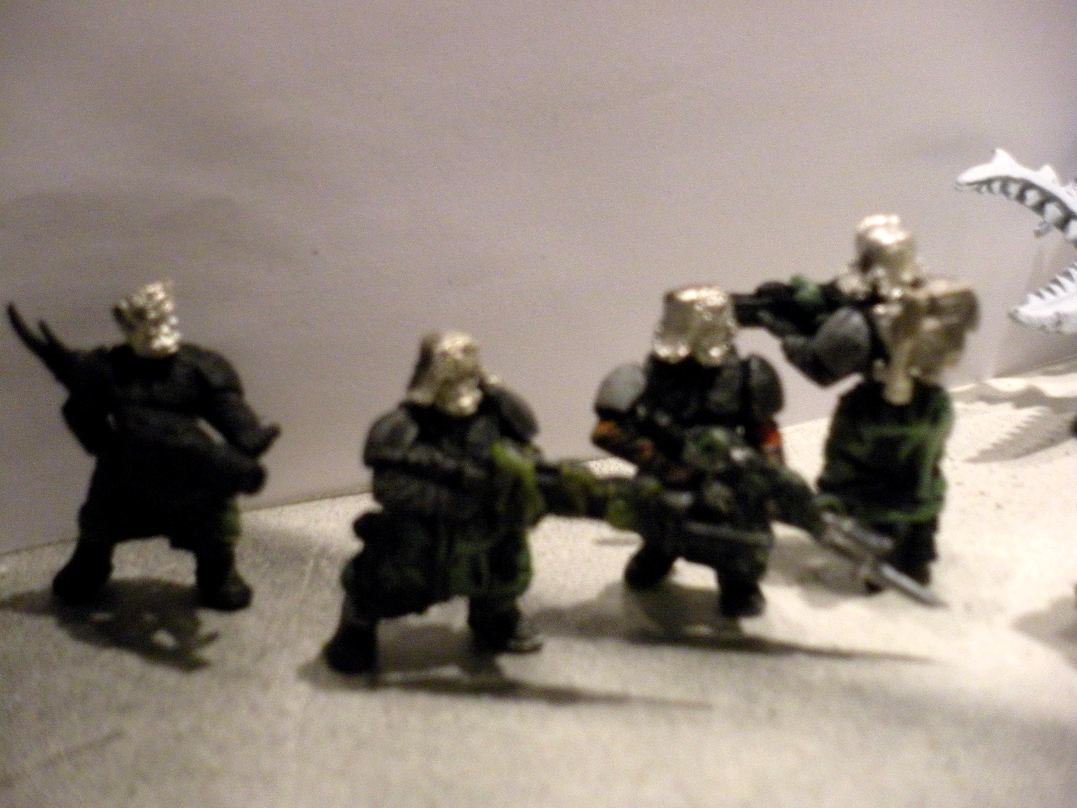 Blurred Photo, Chaos, Conversion, Imperial Guard, Pig Iron, Work In Progress