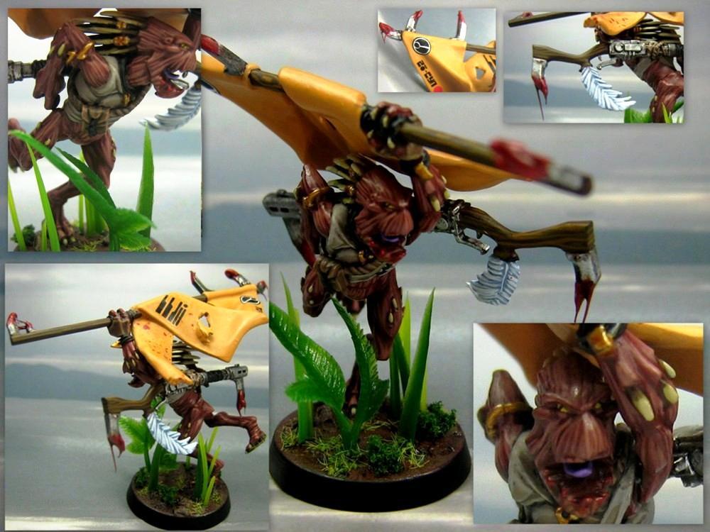 Dakka Painting Challenge, Jungle Warfare, Kroot, Tau