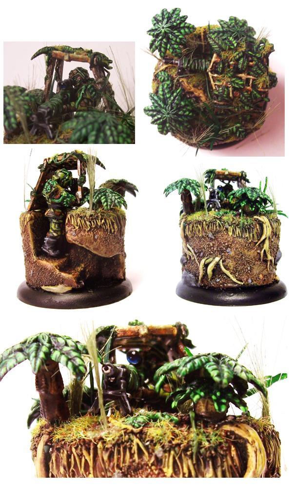 Dakka Painting Challenge, Imperial Guard, Jungle Warfare, Snipers