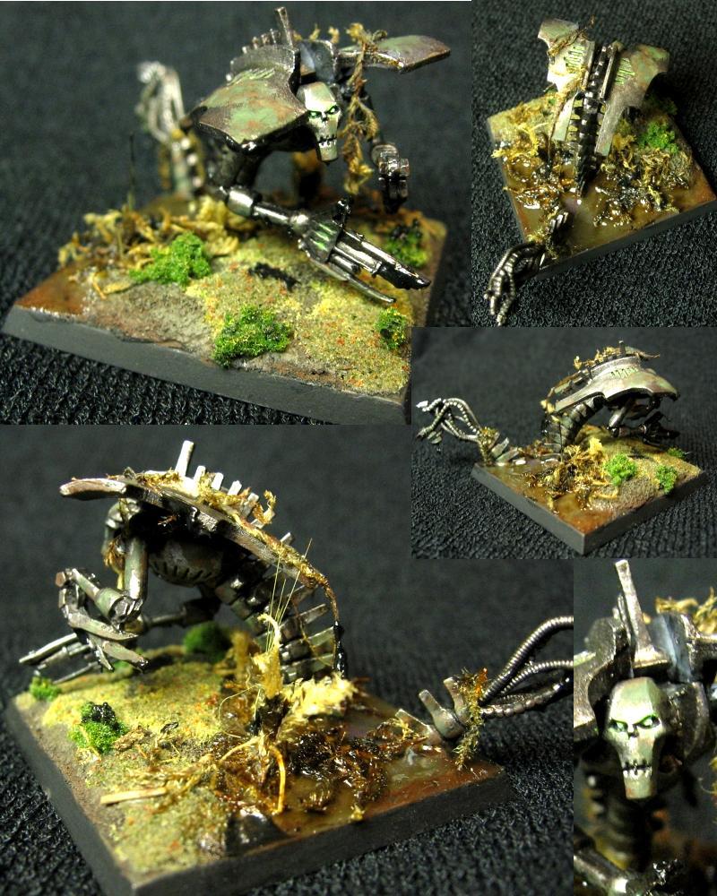 Dakka Painting Challenge, Jungle Warfare, Necrons, Wraith