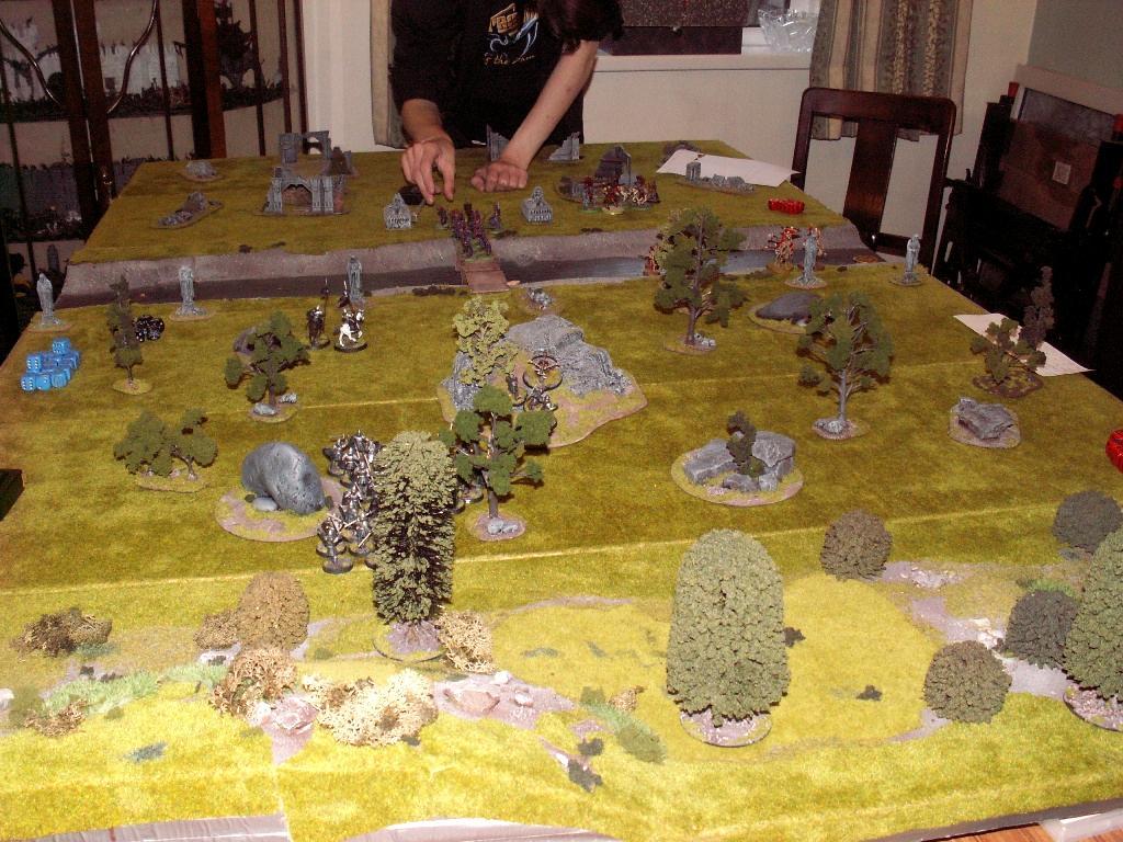 Game Table, Terrain, modular game board