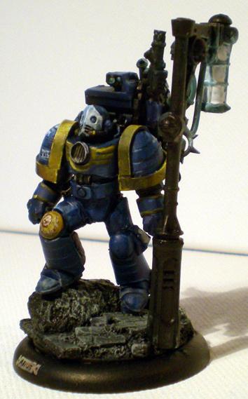 Arius, Pre-heresy, Techmarine, True-scale, Ultramarines