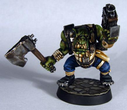 Assault On Black Reach, Boys, Orks, Slugga Boy, Warhammer 40,000